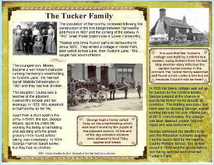 The History of the Tucker Family in Hamworthy (pdf, 620kb)